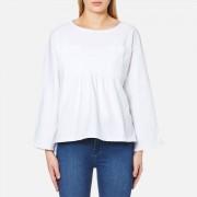 Waven Women's Annelie T Top - White - UK 10 - White