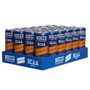 NOCCO 24 x NOCCO BCAA, 330 ml, Persika