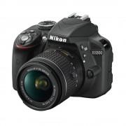 Nikon Cámara Fotográfica Nikon D3300 Negra
