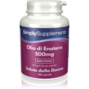 Simply Supplements Olio di Enotera 500 mg - 360 Capsule