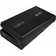 "RACK Extern LOGILINK UA0107, USB 3.0, compatibil cu HDD 3.5"", aluminiu (Negru)"
