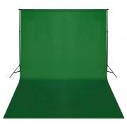 vidaXL Sistema porta-fundos 500 x 300 cm verde