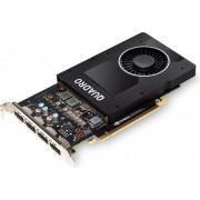 Nvidia Quadro PNY P2000 5GB DDR5, PCIEx1/DVI/160-bit/DP VCQP2000-PB