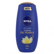 Nivea Creme Oil Pearls Shower Gel Lotus 250Ml Per Donna (Cosmetic)