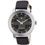 Fastrack Quartz Grey Dial Mens Watch-3121SL02