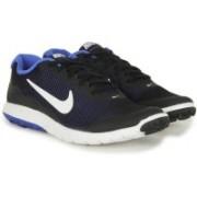 Nike FLEX EXPERIENCE Running Shoes For Men(Black, White, Blue, White)