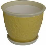 Ghiveci din ceramica pentru flori cu suport, 6121, MN019707, Feronya
