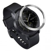 Ringke Bezel Styling para Galaxy Watch 42mm / Gear Sport, Bisel Anillo Cubrir Anti-rasguños Proteccion [Acero Inoxidable] GW-42-12