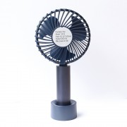 S810 Portable USB Cooling Fan Handheld Mini Fan - Blue