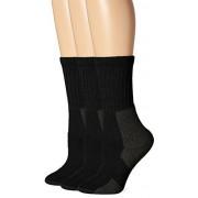 Thorlos Kxw Max Cushion Calcetines de senderismo para mujer, Black (3 Pair Pack), M