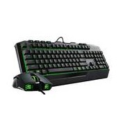 Cooler Master Kit Gaming Cooler Master Bundle Gaming Devastator Ii Membrane Keyboard + Mouse - Green Backlight