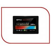 Жесткий диск 240Gb - Silicon Power Slim S55 SATA III SP240GBSS3S55S25