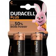 Duracell Set van 2x Duracell C Plus alkaline batterijen LR14 MN1400 1.5 V