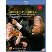 Claudio Abbado: Mahler - Symphony No. 1/Prokofiev - Piano Concerto No. 3 [Blu-ray] [2009]