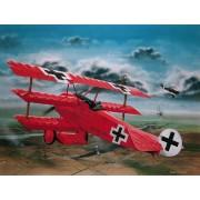 Macheta avion - Fokker Dr. I al Baronului Richthofen - RV4744