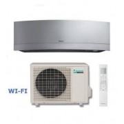 Daikin Climatizzatore Mono Inverter Emura Silver Ftxg25ls-W/rxg25l Inverter Pc 9000 A+++ Wi-Fi + Omaggio Staffa