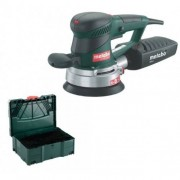 Metabo SXE450 TurboTec Pro Pack Excentrische schuurmachine in Metaloc - 350W - 150mm - variabel