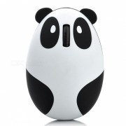MAIKOU Cartoon Panda 1200DPI Raton inalambrico de 2?4 GHz - Blanco