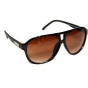 bull-i Retro Square Sunglasses(Brown)