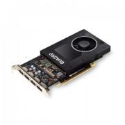 VC, PNY Quadro P2200, 5GB GDDR5x, 160bit, PCI-E 3.0 (VCQP2200-PB)