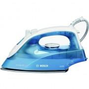 Fier de calcat Bosch TDA2610 Sensixx B, Talpa Palladium-Glissee, 2100 W, 30 g/min, 1.9 m, Alb/Albastru