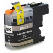 Printflow Compatível: Tinteiro Brother LC-127BK xl preto