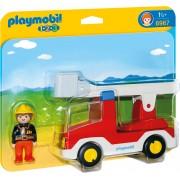 PLAYMOBIL - 1.2.3 CAMION CU POMPIER (PM6967)