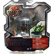 Bakugan Gundalian Invaders Deluxe Battle Gear: Darkus Airkor with Copper Attributes 120g [New, in Package with DNA] with Lights!