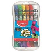 Tempera készlet, 12 darabos, műanyag dobozban, MAPED (IMA810520)
