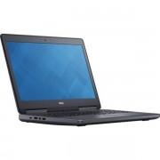 """Laptop Refurbished DELL Precision 7510 (Procesor Intel® Core™ i7 6820HQ (8M Cache, up to 3.70 GHz), 15.6"""", 32GB, 256 GB SSD M.2 + 1 TB HDD, nVIDIA Quadro M2000M, Wi-Fi, Win10 Home)"""