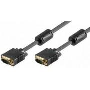 Cablu VGA 15 pini tata la 15 pini tata ecranat 7m