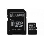 Карта Памет Kingston microSD 32GB Class 10 Gen2 + адаптер