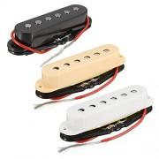 Rishil World 3Pcs Alnico 4 Electric Guitar Single Coil Pickup Neck Middle Bridge Pickups Set