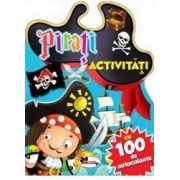 Pirati - Activitati cu 100 de autocolante