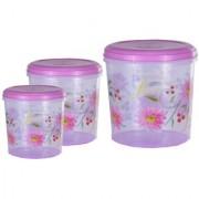 Kuber Industries Big Plastic Container Set/Storage Box Set of 3 Pcs (11000 Ml & 7500 Ml & 5000 Ml ) Contain14