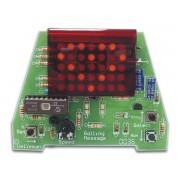 Velleman MK124 Mini-lichtkrant Mini Kits bouwpakket