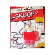 Peanuts FLYING ACE SNOOPY on DOGHOUSE Wind-up KEYCHAIN