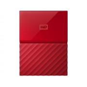 "HARD DISK EXTERN WESTERN DIGITAL MY PASSPORT 2.5"" 1TB USB3.0 RED WDBYNN0010BRD"
