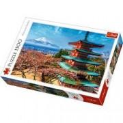 Puzzle Trefl Muntele Fuji 1500 bucati 26132