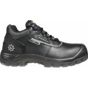 Pantofi de protectie din piele cu bombeu compozit Nova S3 SRC