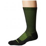 Nike Elite Cushioned Running Merino Crew Socks BlackVoltVolt