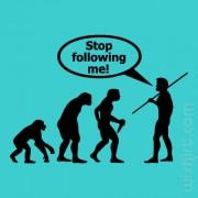 T-shirt Stop Following Me