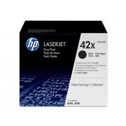 HP Cartucho de tóner Original LaserJet HP 42X de alta capacidad negro para Laserjet 4250 y 4350