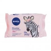 Nivea Cleansing Wipes Micellar 3in1 почистващи кърпички 25 бр за жени