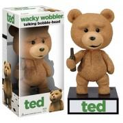 Funko TED Talking Teddy Bear WACKY WOBBLER BOBBLEHEAD Seth MacFarlane Voice