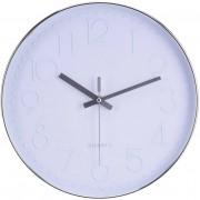 Segnale Nástěnné hodiny kulaté, barva bílá Ø 30 cm