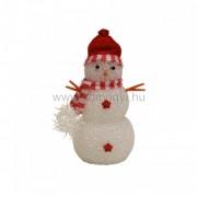 HOME KKD 108 LED-es dekoráció, hóember, 17cm, 4,5V ( KKD 108 )