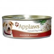 Applaws 6 x 156 g para perros - Pollo en caldo