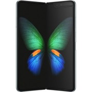 Samsung - Geek Squad Certified Refurbished Galaxy Fold with 512GB Memory Cell Phone (Unlocked) - Space Silver