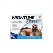 Frontline Plus Medium Dogs 23-44 Lbs (Blue) 3 Doses